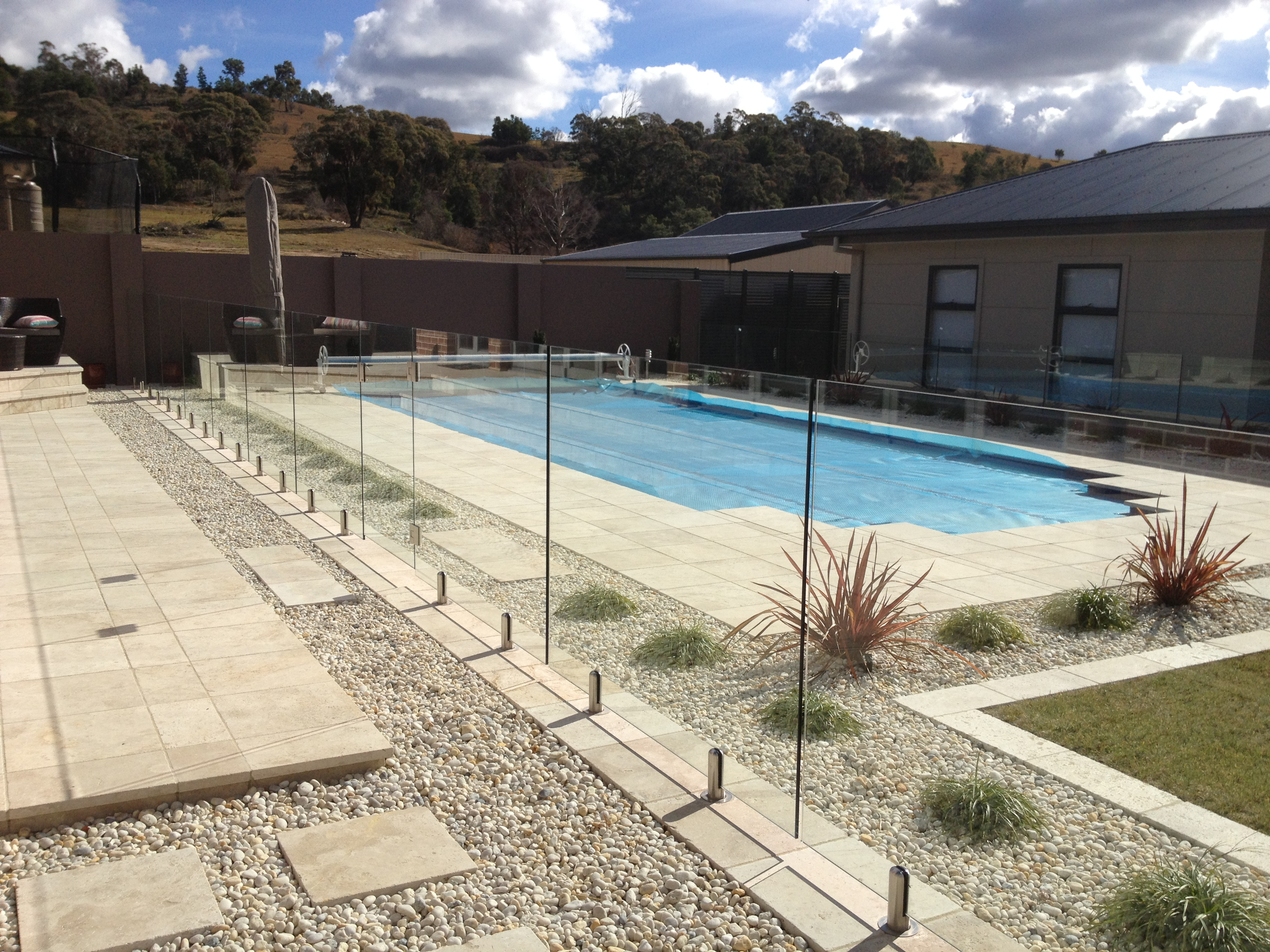 Bunnings Glass Pool Fence Mini Posts
