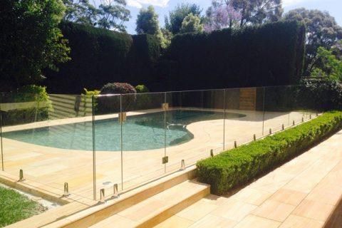 3 Glass Pool Fence